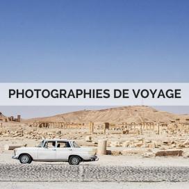 PHOTOGRAPHIES DE VOYAGE