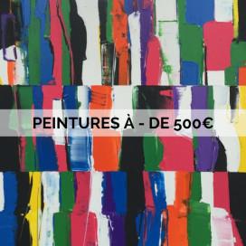 PEINTURES À - DE 500€