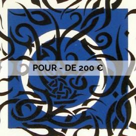 POUR - DE 200 €